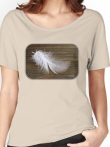 Duck Down ~ Featherbed Soft Women's Relaxed Fit T-Shirt
