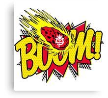 Manny Pacquiao Boom Canvas Print