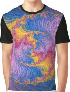 Beautiful Rainbow Fractal Graphic T-Shirt