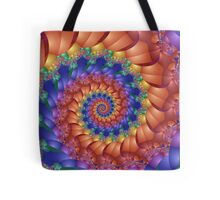 Beautiful Rainbow Spiral  Tote Bag