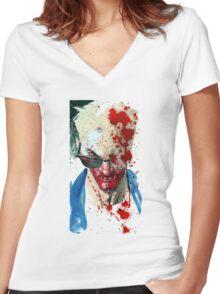 Cassidy Irish vampire Women's Fitted V-Neck T-Shirt