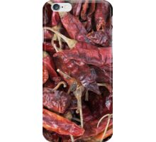 Dried Chili Peppers iPhone Case/Skin