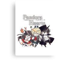 The Chibi Trio (Pandora Hearts) Canvas Print