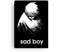 Sadboy boy Canvas Print