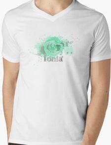 Abstract Ionia Logo Mens V-Neck T-Shirt