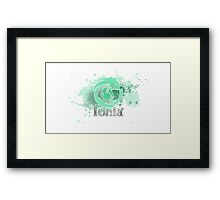 Abstract Ionia Logo Framed Print