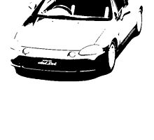 Honda CR-X del Sol SiR by garts