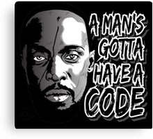 Gotta Have A Code Canvas Print