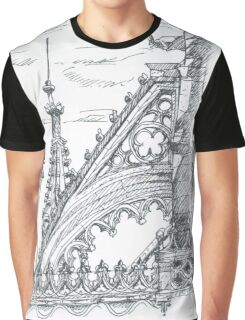 flying buttress. arcobotante. mosteiro da batalha. Graphic T-Shirt