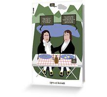 Lyrical Salads Greeting Card