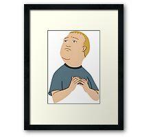 Bobby Hill is my Spirit Animal Framed Print