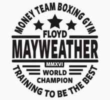 Mayweather Boxing Gym Baby Tee