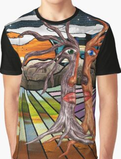 Doodlage 08 - If trees could speak Graphic T-Shirt