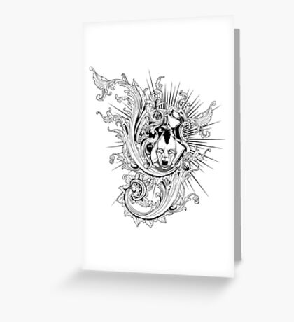 Style Rock Greeting Card