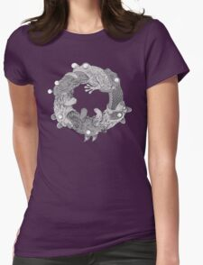 Circle of LIfe Womens Fitted T-Shirt