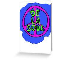 De La Soul Greeting Card