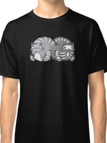 Quantum Cat Curiosity Classic T-Shirt