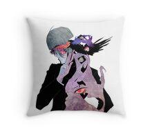 Harajuku inspired anime vector Throw Pillow