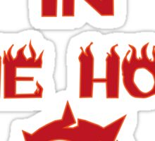 Fire in the hole! Sticker