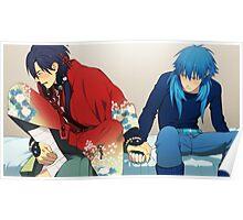 DRAMAtical Murder Koujaku and Aoba good end  Poster