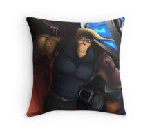 The Fallen Star (Poster) Throw Pillow