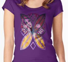 The Lightbearer (With Background) Women's Fitted Scoop T-Shirt