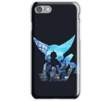 Ratchet and Clank with Wrench in Metropolis iPhone Case/Skin