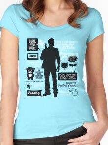 Dean Winchester Quotes Women's Fitted Scoop T-Shirt