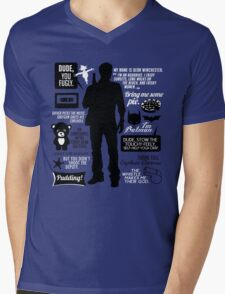 Dean Winchester Quotes Mens V-Neck T-Shirt