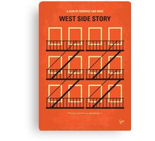 No387 My West Side Story minimal movie poster Canvas Print