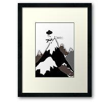 Polar Bear Thank You Framed Print