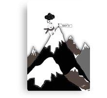 Polar Bear Thank You Canvas Print