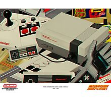 NINTENDO ENTERTAINMENT SYSTEM Photographic Print