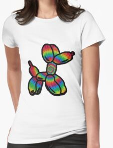 Tie Dye Balloon Dog  T-Shirt
