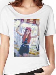 solji exid street Women's Relaxed Fit T-Shirt
