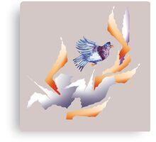 Bird Day celebrations for Vini Marina 6 Canvas Print