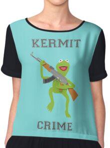 Kermit Crime Chiffon Top