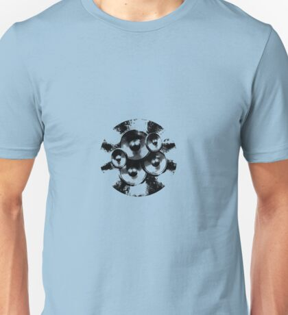 Black music speakers Unisex T-Shirt