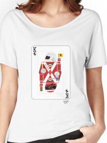 Kings Of Formula 1 - Sebastian Vettel & Kimi Raikkonen Women's Relaxed Fit T-Shirt