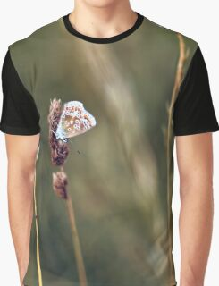 Brown Argus butterfly Graphic T-Shirt