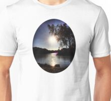 Sunrise on the River Glint Unisex T-Shirt