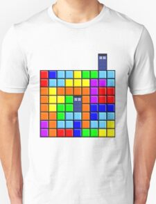Tardis Tetris T-Shirt