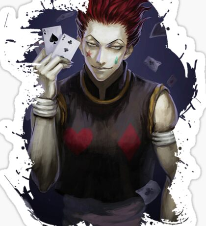 Hunter x Hunter- Hisoka Sticker