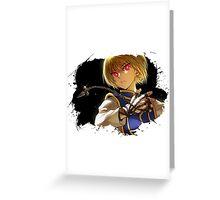 Hunter x Hunter-Kurapika Greeting Card