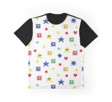 Abstract Mosaic Iconography Graphic T-Shirt