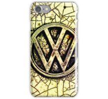 Cracked Logo iPhone Case/Skin