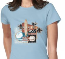 surf motel Womens Fitted T-Shirt