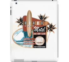 surf motel iPad Case/Skin