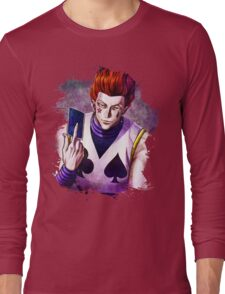 Hunter x Hunter- Hisoka Long Sleeve T-Shirt