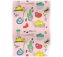 Cactus Mountain Poster